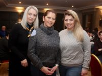 Susan, Judy and Aideen Griffin at the Tralee Rugby Club Table Quiz at The Ashe Hotel on Friday night. Photo by Dermot Crean