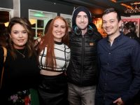 Ciara Heaslip, Ciara Kelly, Paddy Brosnan and Niall Horan at Shane Clifford's Stand-Up show at The Blasket on Thursday night. Photo by Dermot Crean