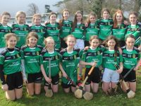 Mercy Mounthawk girls at the camogie blitz at Mercy Mounthawk on Thursday. Photo by Dermot Crean