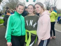 Gaelcholáiste Chiarraí students taking part in the 5k Run on Friday in the Town Park. Photo by Dermot Crean