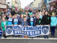 Kerins O'Rahillys members on the St Patrick's Day Parade.