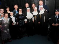 Participants in St John of God Services production of 'Sister' at Siamsa Tíre on Wednesday night. Photo by Dermot Crean