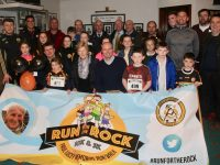 The launch of the Paul Lucey 'Run For The Rock' at the Austin Stacks GAA Clubhouse on Tuesday. Photo by Dermot Crean