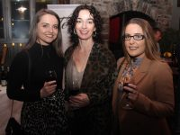Siobhan Ryle, Sarah Barry and Sarah Moloney at the Tapas and Pintxo evening at The Ashe Hotel on Tuesday night. Photo by Dermot Crean