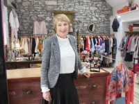 Sharon Lewis of Bamboo inside the Ardfert boutique.