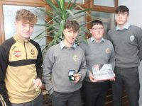 Jordan KIssane, Daire Keane, Eoin Buckley and Rap Buiyvadas.