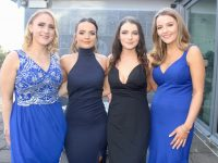 Rebecca Murphy, Jessica O'Connor, Katie Sugrue and Ruth Carey at the IT Tralee Clubs and Societies Ball at Ballyroe Heights Hotel on Thursday night. Photo by Dermot Crean
