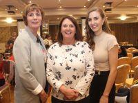 Brenda O'Connell, Helen Pierse and Leanne Houseman at the Tralee Imperials awards night at The Rose Hotel on Thursday night. Photo by Dermot Crean