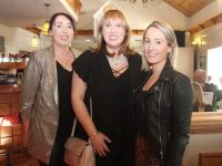 Mary Slattery, Helen Slattery and Sheila Madden at the Fashion Show/Dinner fundraiser in O'Riada's on Friday night. Photo by Dermot Crean