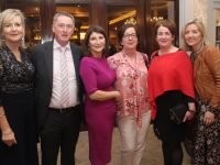 Eileen McNamara, Pat Carmody, Margaret Coleman, Catriona O'Mahony, Maeve Nealon and Sandra Rusk at the fundraising dinner in The Rose Hotel on Friday night. Photo by Dermot Crean