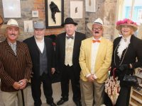 Frank Houlihan, James Finnegan, John Fraher, Tommy Sweeney and Ger Madden looking forward to Bloomsday on June 16. Photo by Dermot Crean