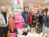At the coffee fundraiser for a new Chemotherapy Day Unit at UHK were Bracker O'Regan, Bridget O'Connor, Evelyn O'Regan, Mikey Sheehy, Mary O'Regan, Darren O'Sullivan and Mary Fitzgerald at Carraig Donn on Friday. Photo by Dermot Crean