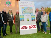 Joe Costello, Johnny Enright, Mary Wallace, Jim Moriarty, Jimmy Mulligan, Derek O'Sullivan, Marie Fitzgibbon and Conor Culloo of the organising committee of the St Pats GAA Dingle Way Challenge looking forward to the event this weekend. Photo by Dermot Crean