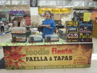 REPO Free Carlos Luque of Foodie Fiesta will be one of many talented food and craft producers exhibiting at Manor West Shopping Center and Retail Park's Food and Craft Fair on Saturday, May 11th from 11am to 5pm.