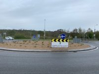 The Forge Cross Roundabout as it looks now.