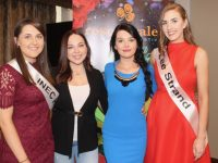 Four of the Kerry Rose 2019 contestants Karen Dineen, Shannan Howe, Emer Forde and Leanne Haussmann. Photo by Dermot Crean