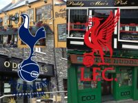 Ten Places In Town To Watch Liverpool v Spurs Tonight