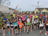 At the start of the Paul Lucey Memorial 'Run For The Rock' on Monday. Photo by Dermot Crean