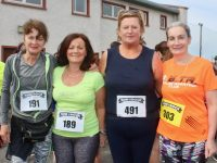 Joan Barry, Geraldine Counihan, Maura Daly and Noreen Quirke at the Paul Lucey Memorial 'Run For The Rock' on Monday. Photo by Dermot Crean