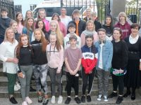 Members of the Tír na nÓg Youth Club with parents and Cllr Norma Foley at the KYDS on Friday last. Photo by Dermot Crean