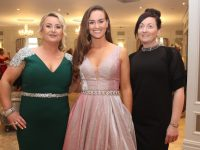 Edwina O'Driscoll, Kara Kearns and Melissa Hurley at the Connect Kerry Women In Business Awards at The Rose Hotel on Friday night. Photo by Dermot Crean