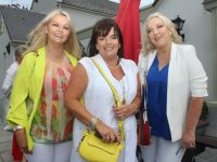 Caroline Nolan, Liz O'Gorman and Liz Forster at the Spa/Fenit branch of Kerry Hospice's Midsummer Ladies Lunch at the Oyster Tavern on Saturday afternoon. Photo by Dermot Crean