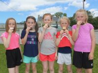 Pupils enjoying the Sports Day/Ice Cream day at Spa NS on Friday. Photo by Dermot Crean