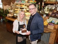 Emer and Ken Tobin of Yummy Cafe celebrated the businesses sixth birthday this month. Photo by Dermot Crean