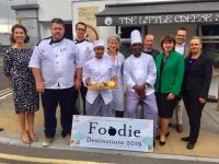 Representatives from hotels and restaurants in town hoping people will vote for Tralee in the Foodie Destination 2019.