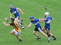 Action from the Abbeydorney v St Brendan's game. Photo by Mike O'Halloran