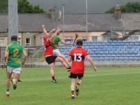 Action from the Ballyheigue v Lixnaw game. Photo by Mike O'Halloran