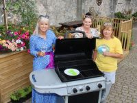 Orlagh Winters of Benners Hotel with Marisa Reidy and Kathleen Collins of Recovery Haven looking forward to the fundraising barbecue next month. Photo by Dermot Crean