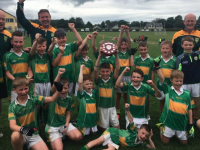 The John Mitchels Boys U10 team that won the A final of the Miltown / Castlemaine u10 blitz held on Sunday July 28th.