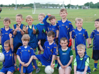Ballymac U6 and U7  Boys who took part in the County Blitz for U7s in The Centre of Excellence Currans last Monday night.