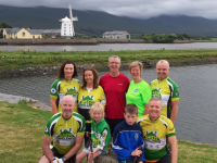 The Kerry Hospice Foundation team who will take part in the 54321 Challenge.