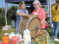 Peggy Daly and Debbie Quirke at the Churchill Heritage Day on Saturday. Photo by Dermot Crean