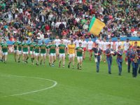 Kerry lining up.