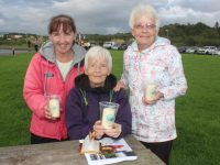 Sharon Roche, Philomena Duggan and Christina Mulligan at the Recovery Haven 'Celebration of Light' at the Tralee Bay Wetlands on Thursday night. Photo by Dermot Crean