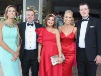 Linda and Eoin O'Callaghan, Aisling Foley, Paula and Fergus Foley at the Rose Ball at the Dome on Friday night. Photo by Dermot Crean
