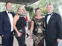 Mikey and Suzanne Sheehy, Mary Ross and Pa Daly at the Rose Ball at the Dome on Friday night. Photo by Dermot Crean