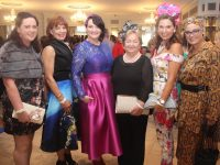 Paula Silles, Sinead Joy, Maria Maher, Bridie Quinlan, Majella Duignan and Cathy Troth who attended the Rose of Tralee Fashion Show at The Dome last night. Photo by Dermot Crean