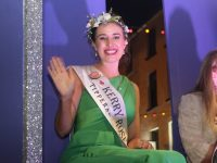 Kerry Rose Sally-Ann Leahy at the parade on Saturday night. Photo by Dermot Crean