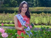 Rose of Tralee 2019, Sinead Flanagan in the Town Park on Wednesday morning. Photo by Dermot Crean