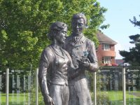 Death Of Creator Of Town Park's Rose Of Tralee Statue