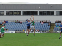 Action from the game. Photo by Mike O'Halloran