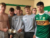All Ireland U20 B Cup with Parnells players Brian Lonergan, Ruarí O Sullivan, Darragh Reen, Cathal Dunne and Tadhg Brick.