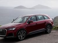 A still from one of the videos of the Audi 7 in Kerry.