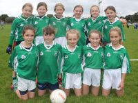 Na Gaeil girls at the Carmel O'Connor Memorial Blitz at Na Gaeil GAA Club on Saturday. Photo by Dermot Crean