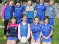 Ballymacelligott girls at the Carmel O'Connor Memorial Blitz at Na Gaeil GAA Club on Saturday. Photo by Dermot Crean