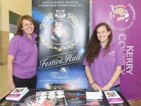 Sandra Leahy and Gemma O'Connell of Kerry County Museum at the 'Community On Your Doorstep' exhibition at Manor West Retail Park on Saturday. Photo by Dermot Crean
